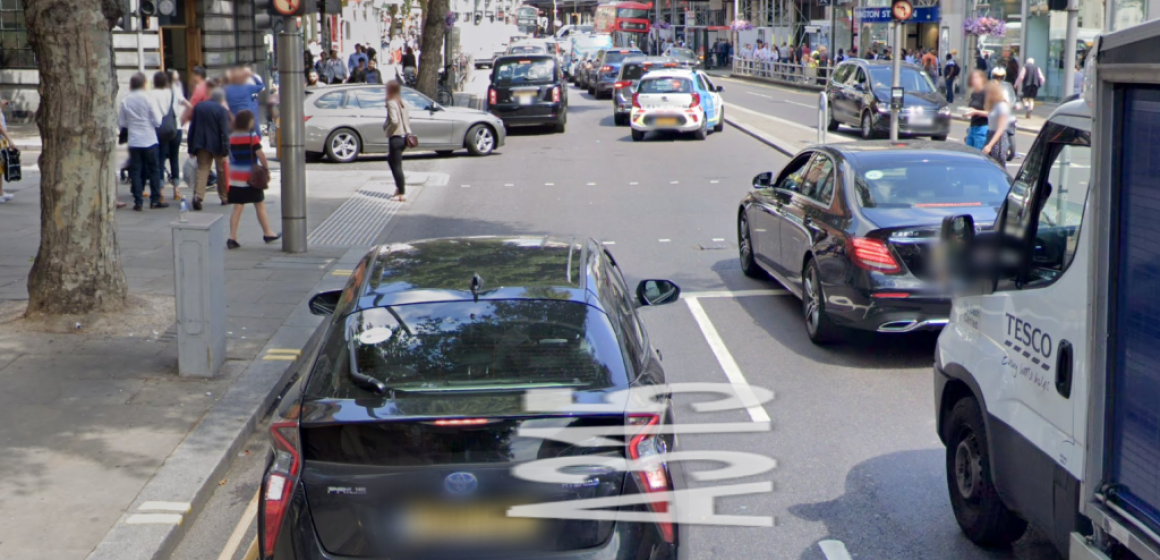 Kensington High Street - google map
