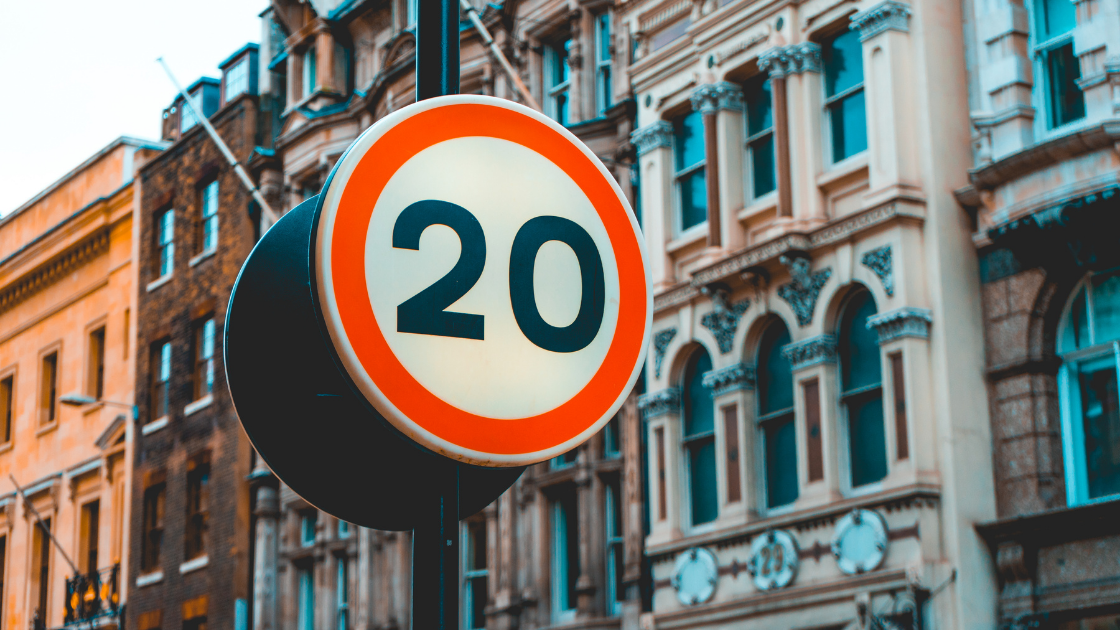 Permanent 20mph speed limit on all roads