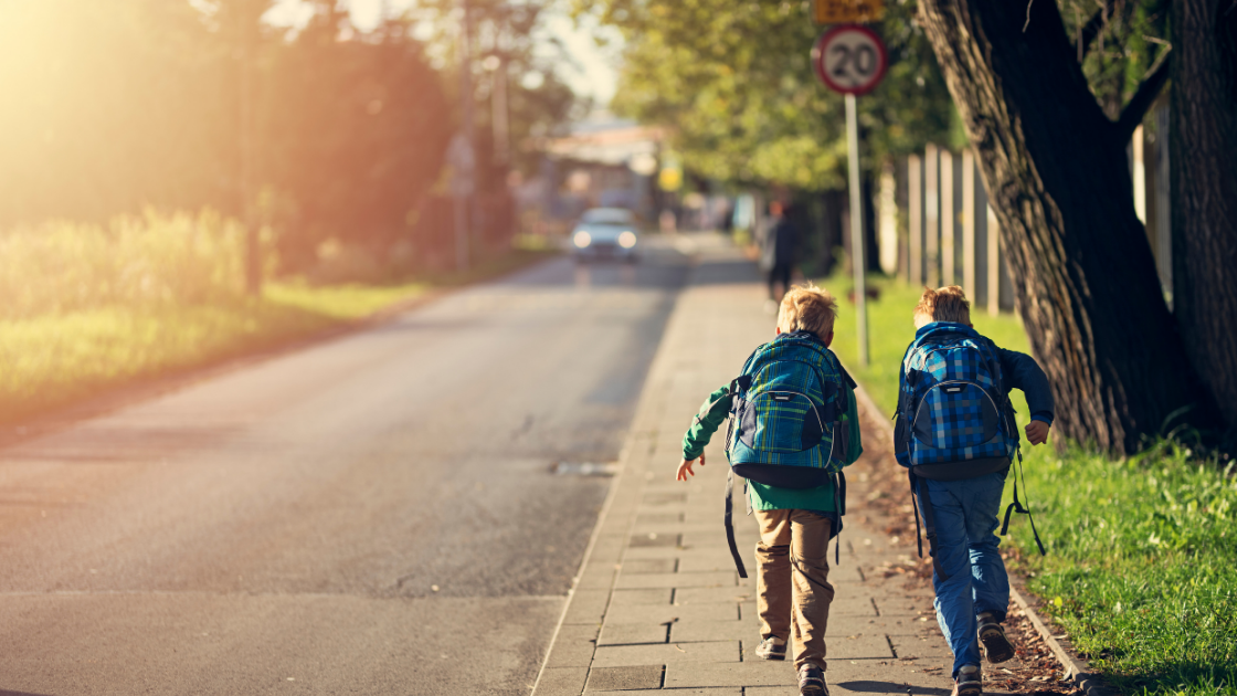Traffic-free school streets at school run hours